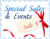 special sales and events